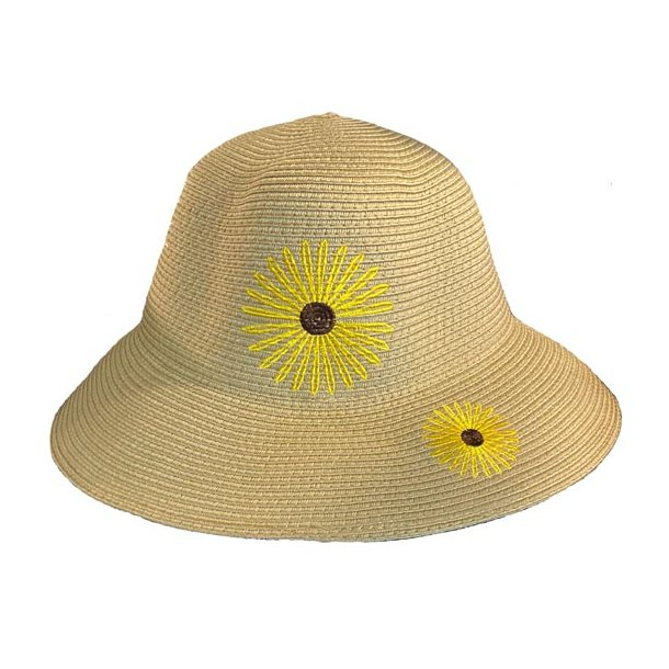 Lisbeth Merrild Hat med blomst