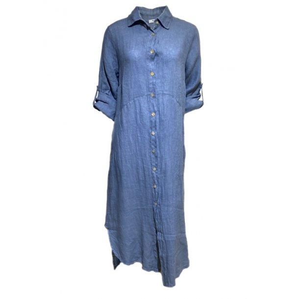 M A P P Lea Long Hør kjole
